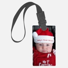 Baby's first Christmas Luggage Tag