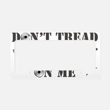 Don't Tread On Me License Plate Holder