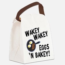 Bacon And Eggs Canvas Lunch Bag