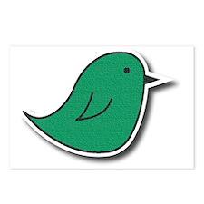 Vox Green Bird Postcards (Package of 8)