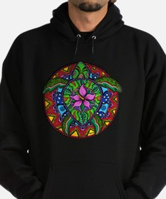 Sea Turtle Painting Hoodie (dark)