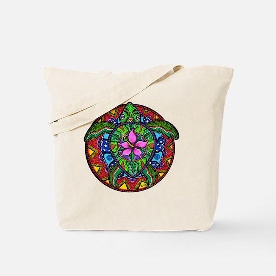 Sea Turtle Painting Tote Bag