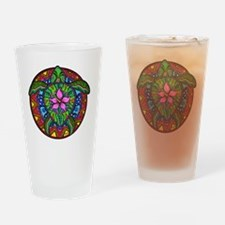 Sea Turtle Painting Drinking Glass