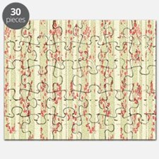 birch trees curtain Puzzle