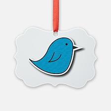 Vox Blue Bird Ornament