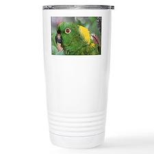 Yellow Nape Amazon Parr Travel Mug