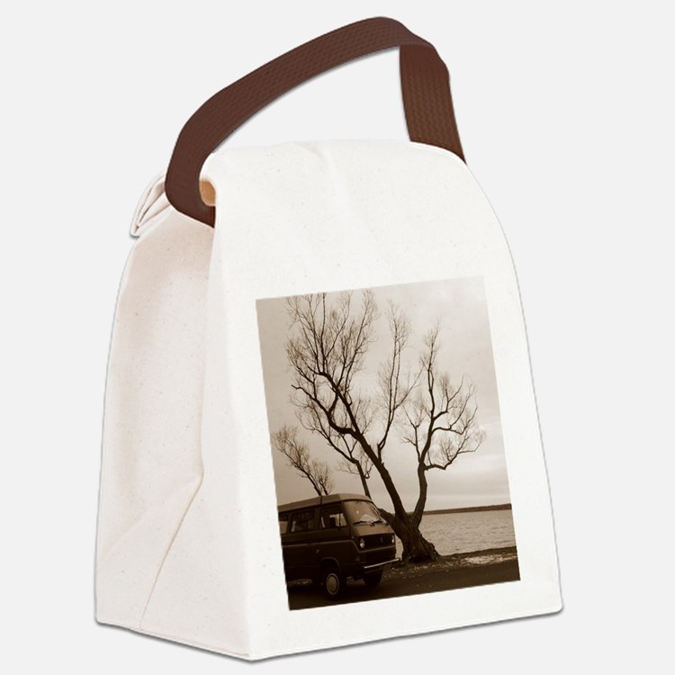 Vanagon by the Lake Canvas Lunch Bag