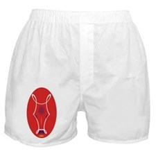 Crimson Bull Boxer Shorts