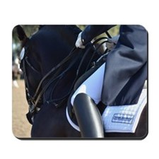 Friesian Sporthorse dressage Mousepad
