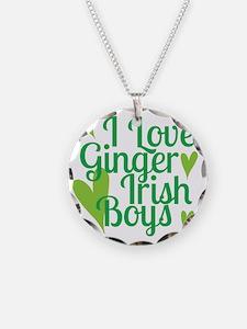 Ginger Irish Boys Necklace