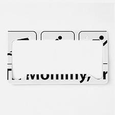 Tri Mommy, Tri License Plate Holder