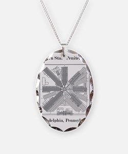 Eastern State Penitentiary Map Necklace