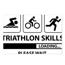 Triathlon Skills Postcards (Package of 8)