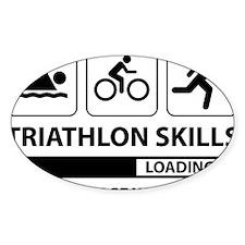 Triathlon Skills Decal