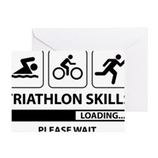 Triathlon Skills Greeting Card