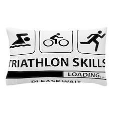 Triathlon Skills Pillow Case