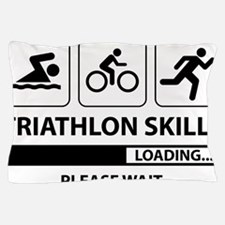 Triathlon Skills Pillow Case