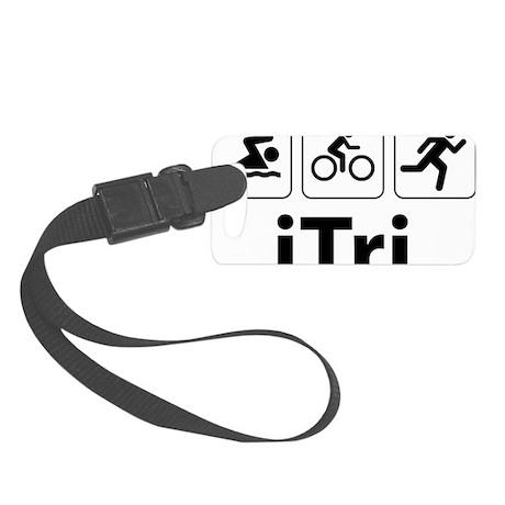 iTri Small Luggage Tag