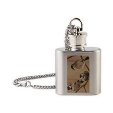 uiad Shanghai Birds Flask Necklace