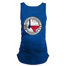 Texas San Antonio LDS Mission S Maternity Tank Top