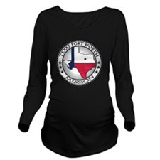 Texas Fort Worth LDS Long Sleeve Maternity T-Shirt
