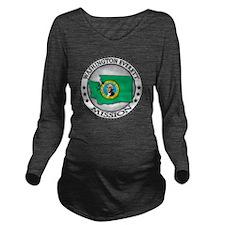 Washinton Everett LD Long Sleeve Maternity T-Shirt