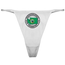 Washinton Everett LDS Mission State  Classic Thong