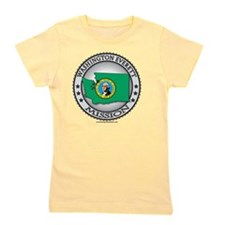 Washinton Everett LDS Mission State Fla Girl's Tee