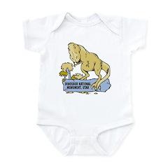 Utah Dinosaur Monument Infant Bodysuit
