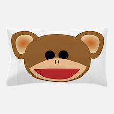 Wild Sock Monkey Child Pillow Case