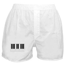 Piano Keyboard Boxer Shorts