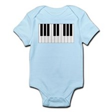 Piano Keyboard Infant Bodysuit