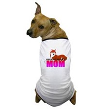 Copper Siberian Husky Mom Dog T-Shirt