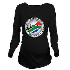 South Africa Johanne Long Sleeve Maternity T-Shirt