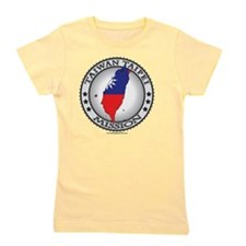 Taiwan Taipei LDS Mission Flag Cutout M Girl's Tee
