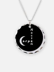 Carpe Noctem - circular edge Necklace