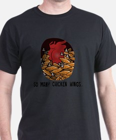 So many chicken wings... T-Shirt