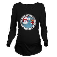 Fiji Suva LDS Missio Long Sleeve Maternity T-Shirt