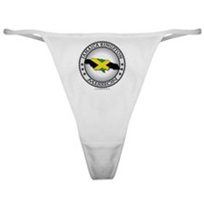 Jamaica Kingston LDS Mission Flag Cu Classic Thong