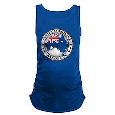 Australia Brisbane LDS Mission  Maternity Tank Top