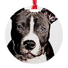 Cartoon Pit Pup Ornament