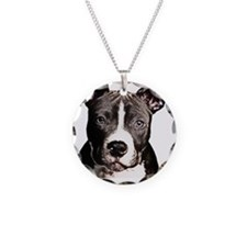 Cartoon Pit Pup Necklace