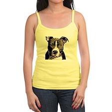 Cartoon Pit Pup Ladies Top