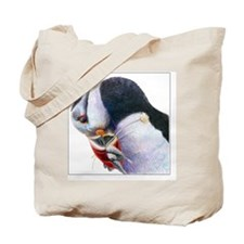 Gel Mouse Pad with Atlantic Puffin Tote Bag