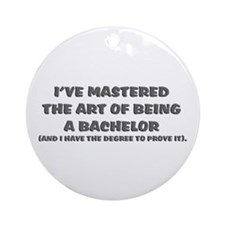 Bachelor of Arts Ornament (Round)