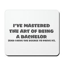Bachelor of Arts Mousepad
