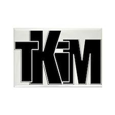TKIM logo Rectangle Magnet
