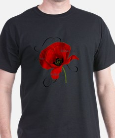 Poppy Floral T-Shirt