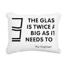 Twice as big as it needs Rectangular Canvas Pillow