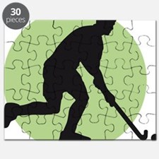 field hockey player Puzzle